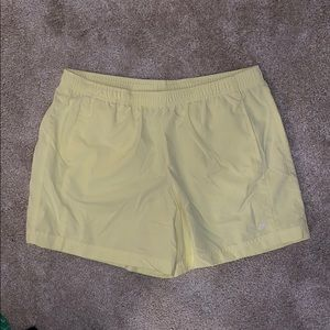 Vintage Yellow Nike Shorts